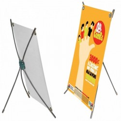 Mini porte affiche x-screen - Affiche non inclus