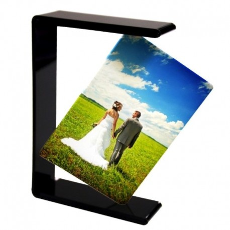 Cadre photo support acrylique suspendu superbe rendu photo